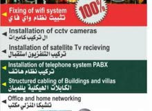 telephone cabling wifi problem fixing networking  cctv installation