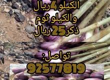 للبيع ثوم عماني إنتاج الجبل الأخضر