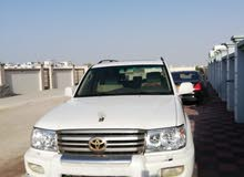 Toyota Land Cruiser 2006 For sale - White color