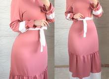 فستان نازك قياسات 38 لحد 48 بيع جملة و مفرد اكو توصيل محافظات السعر 23 الف