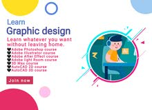 Learn Graphic design programs from your home