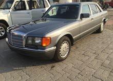 مرسدس 560 SEL موديل 1989 للبيع