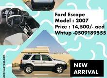 Ford Escape SUV 2007
