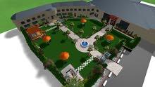 تصميم وانشاء حدائق