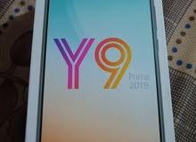 موبايل Y9 Priam 2019 واي 9 بريم كامل ملحقاات جبته قبل شهر بتاريخ 2020/6/21 كامل