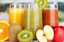 معلم عصيرات طبعية يعطي دورات تدريبية على جميع انواع العصيرات بلخبر والدمام