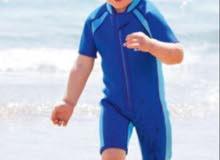 لبس غوص او السباحة للأطفال