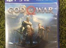 لعبة god of war للبيع