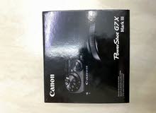 canon powershot g7x mark 3 for sale
