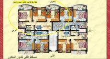 شقه في مدينة رأس البر عروس المصايف ، شقة بحري غربي - دور ثاني - مساحتها 70 متر