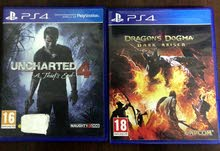 uncharted 4 and Dragon Dugma