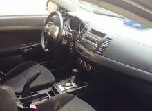 Black Mitsubishi Lancer 2008 for sale