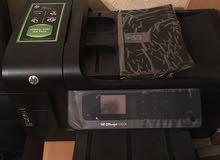 طابعة وسكنر وماكينة تصوير  لاسلكية 6500A hp officejet