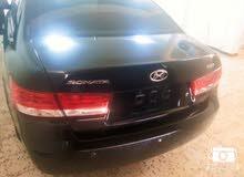 هونداي سوناتا 2007 الون اسود فل  سيارة ممتازة خاالية من عيوب كامله سيارة