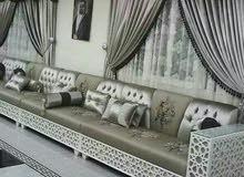 Sofa,Wallpaper,Curtain,Carpet