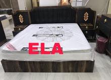 لعشاق اللون الاسود والفخامة غرفة نوم ELA صناعة تركية