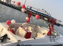 قارب للايجار لقضاء اجمل اللحظات في البحر