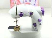 ماكنة خياطة تعمل عالكهربا او بطاريات
