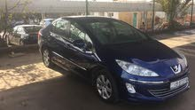 Blue Peugeot 408 2012 for sale
