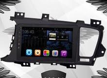 شاشة كيا اوبتيما K5 بحجم 8 انش فل اندرويد