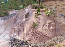 ديكورات شلالات تنسيق حدائق متنزهات