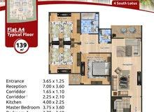 شقة بموقع مميز بالتجمع الخامس بجوار الجامعة الامريكية