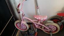 دراجة بنات وردي