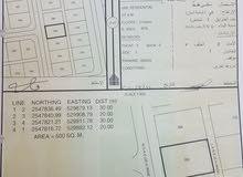 أرض سكنية في بهلاء مخطط حي الحوراء  مباشر