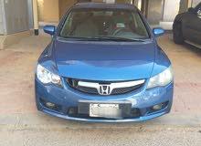 للبيع سياره سيفيك 2010 اللون ازرق سماوي صبغ الوكاله معاده قطعتين