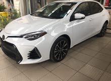For sale 2018 White Corolla
