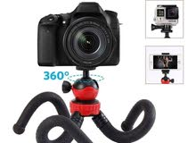 Mini Flexible Sponge Octopus Tripod Gorillapod غوريلا ترايبود