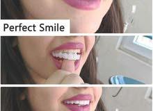 الإبتسامة المؤقتة تتناسب مع جميع الاسنان رجال ونساء