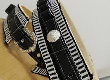 محازم رمي وأحزمة خناجر بالنسيج اليدوي حسب مقاس الزبون بأيدي عمانيه