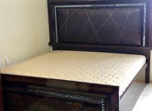 bed room set: Super King size bed - wardrobes - dressing table