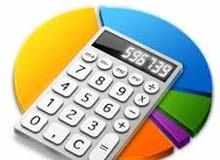 محاسب مالي ذو خبرة + العمل على الاكسل والمنظومات المحاسبية