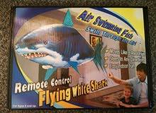 لعبة سمكة القرش طائرة جديدة لم تستعمل