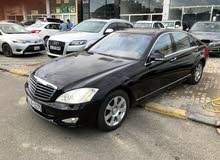 Mercedes Benz S 500 2008 For sale - Black color