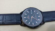 ساعة اوميغا. لون اسود طبق الاصل. عالية الجودة