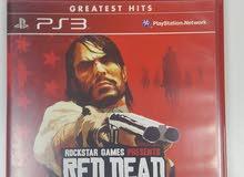 لعبة Red Dead Redemption للسوني 3