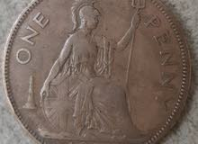 one penny british 1939