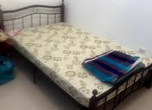 double bed and closet for sale