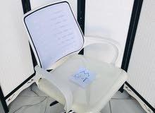 كرسي مكتب شبك ثابت وبرام