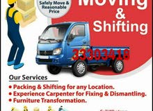 Service movers - Packers Carpenter work call