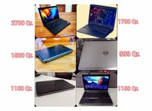 Another collection of used laptops. 1.  Dell 20gb ram i7 touch laptop 2700 Qr.