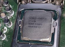 CPU Intel core i7 8700