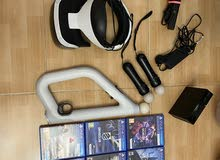 VR playstation With gun and 9 VR Games