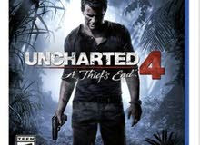 لعبة uncharted4 game , for ps4