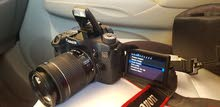 canon 70d (few time used)+accessories