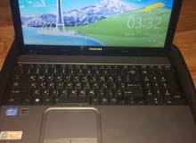 لابتوب توشيبا Core i7 شبه جديد