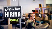 * Looking for hard working & Dynamic Sales Man